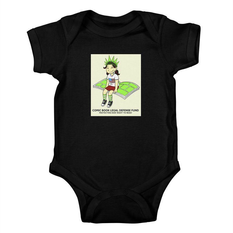 Lil' Libby Kids Baby Bodysuit by COMIC BOOK LEGAL DEFENSE FUND