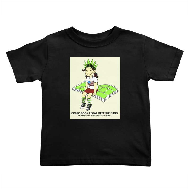 Lil' Libby Kids Toddler T-Shirt by COMIC BOOK LEGAL DEFENSE FUND