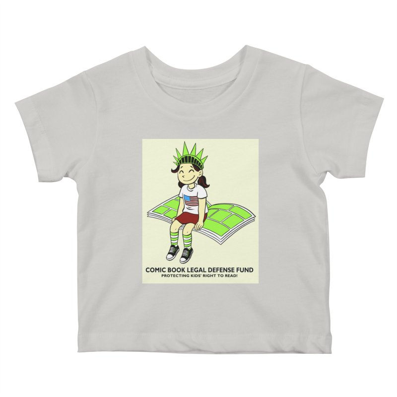 Lil' Libby Kids Baby T-Shirt by COMIC BOOK LEGAL DEFENSE FUND