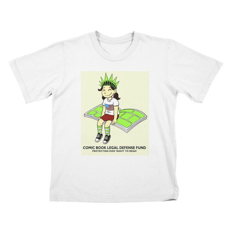 Lil' Libby Kids T-shirt by COMIC BOOK LEGAL DEFENSE FUND