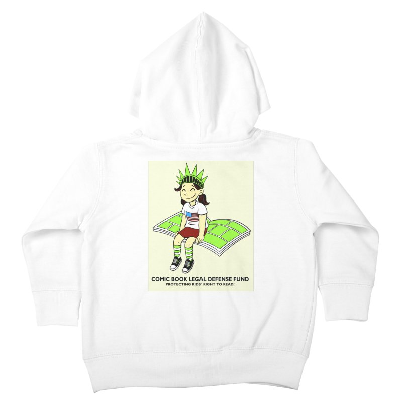 Lil' Libby Kids Toddler Zip-Up Hoody by COMIC BOOK LEGAL DEFENSE FUND