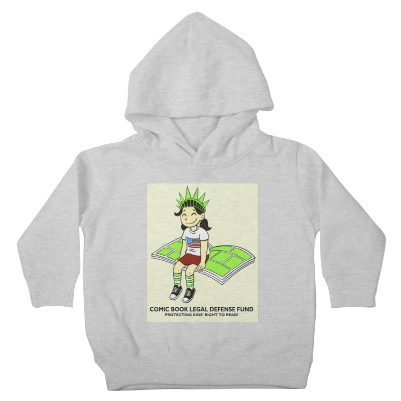Lil' Libby Kids Toddler Pullover Hoody by COMIC BOOK LEGAL DEFENSE FUND