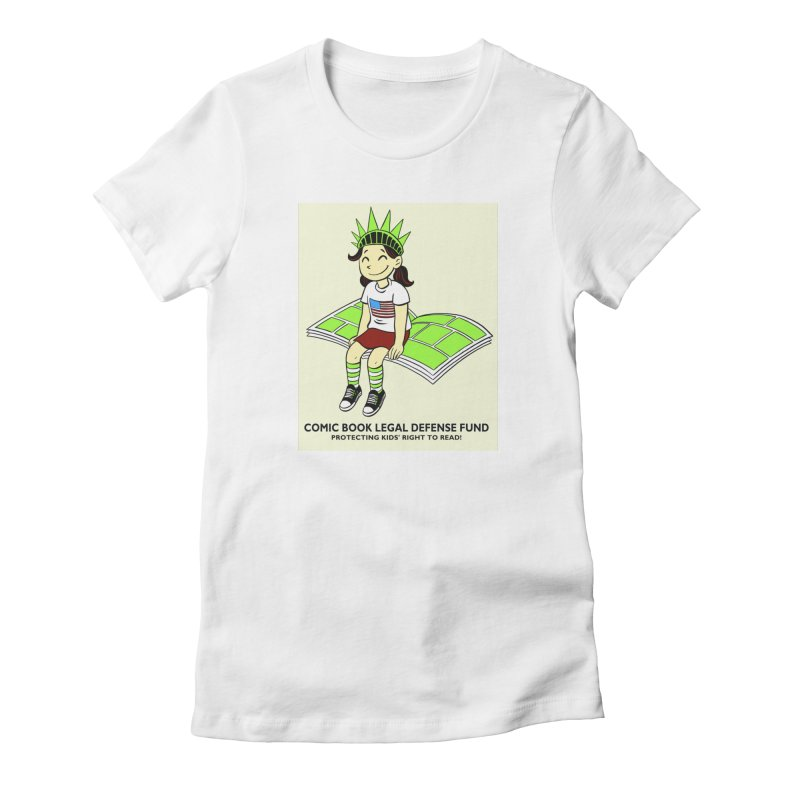 Lil' Libby Women's T-Shirt by COMIC BOOK LEGAL DEFENSE FUND