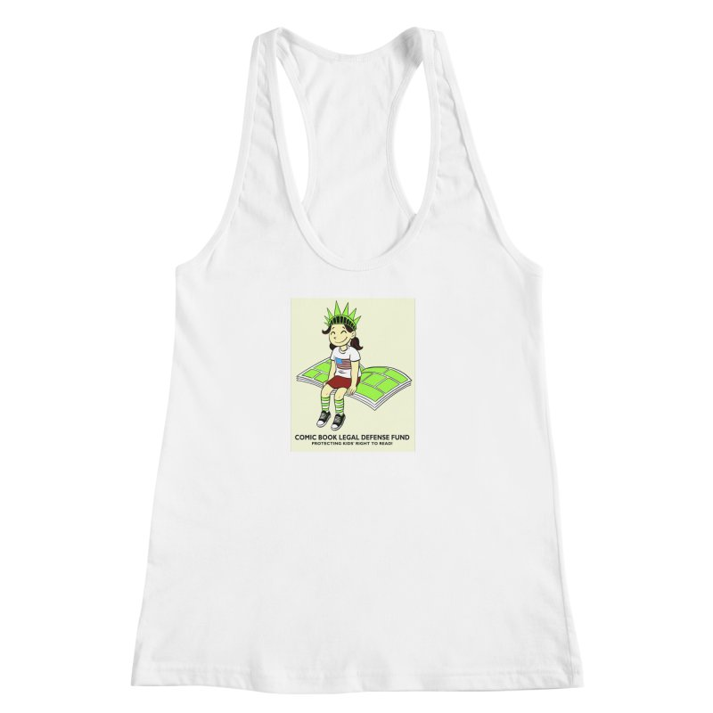 Lil' Libby Women's Racerback Tank by COMIC BOOK LEGAL DEFENSE FUND