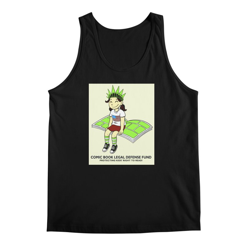 Lil' Libby Men's Regular Tank by COMIC BOOK LEGAL DEFENSE FUND