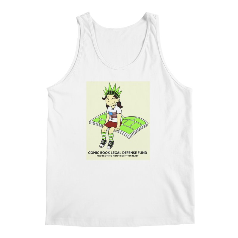 Lil' Libby Men's Tank by COMIC BOOK LEGAL DEFENSE FUND