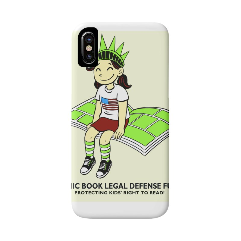 Lil' Libby Accessories Phone Case by COMIC BOOK LEGAL DEFENSE FUND