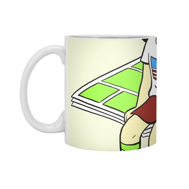 Lil' Libby Accessories Standard Mug by COMIC BOOK LEGAL DEFENSE FUND