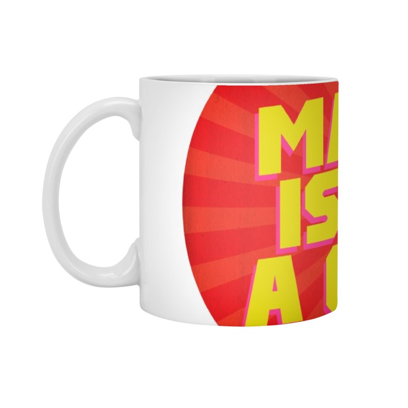Manga is not a Crime! Accessories Mug by COMIC BOOK LEGAL DEFENSE FUND