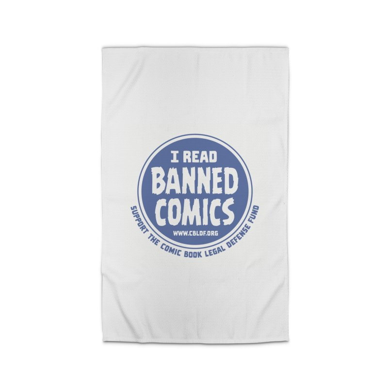Banned Comics Home Rug by COMIC BOOK LEGAL DEFENSE FUND