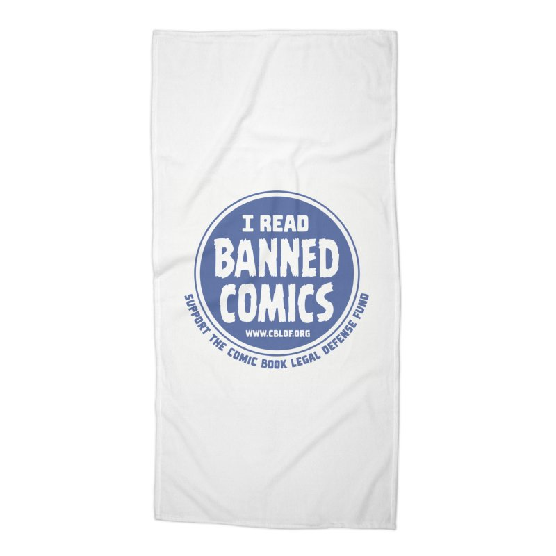 Banned Comics Accessories Beach Towel by COMIC BOOK LEGAL DEFENSE FUND