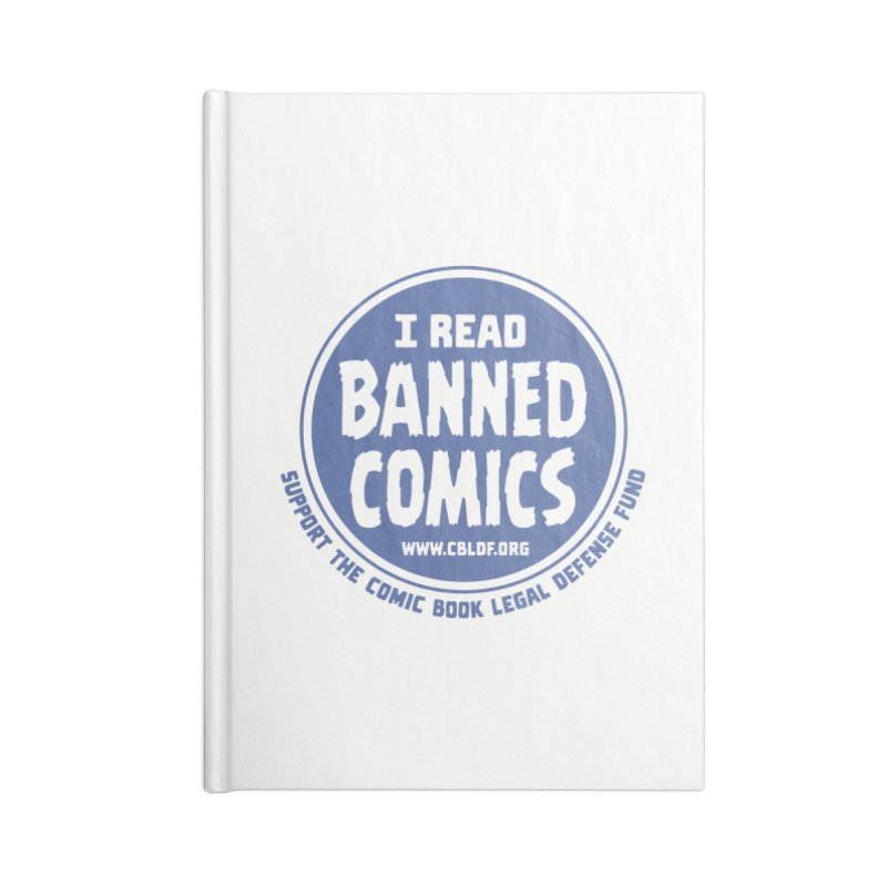 Banned Comics Accessories Notebook by COMIC BOOK LEGAL DEFENSE FUND
