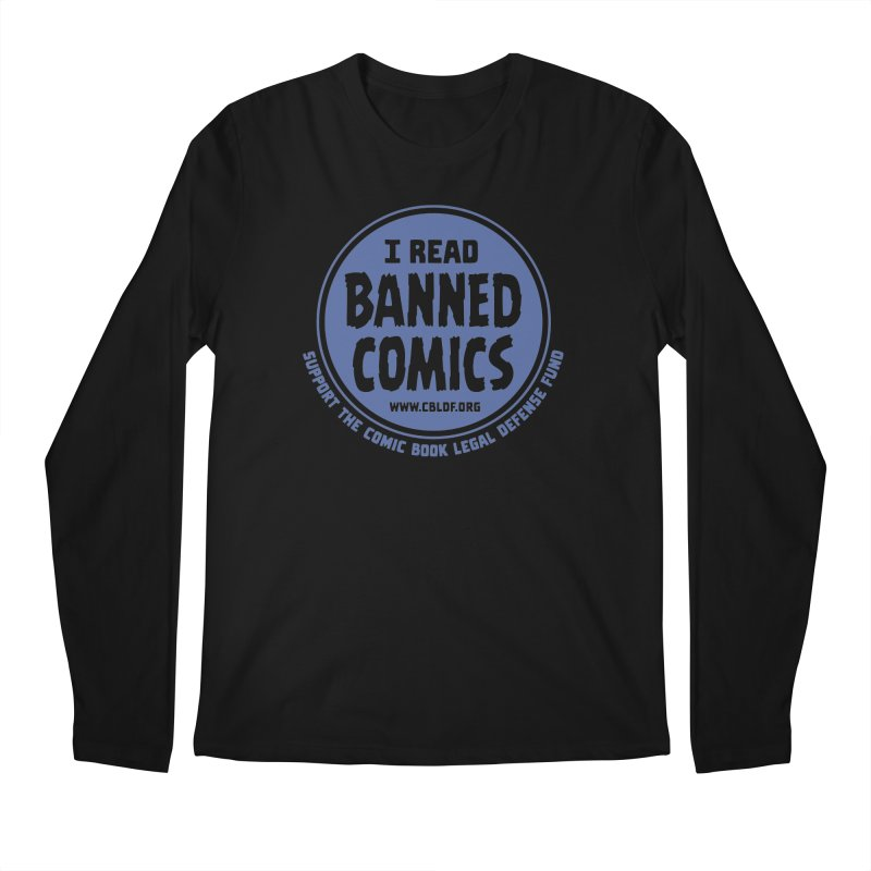 Banned Comics Men's Longsleeve T-Shirt by COMIC BOOK LEGAL DEFENSE FUND