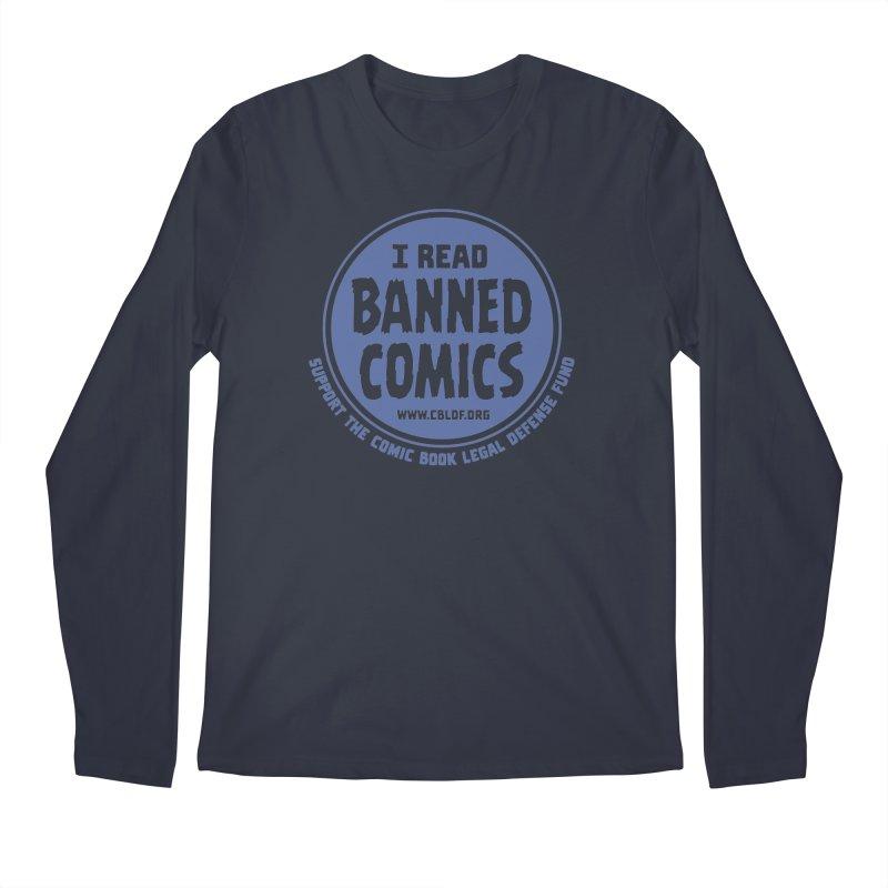 Banned Comics Men's Regular Longsleeve T-Shirt by COMIC BOOK LEGAL DEFENSE FUND