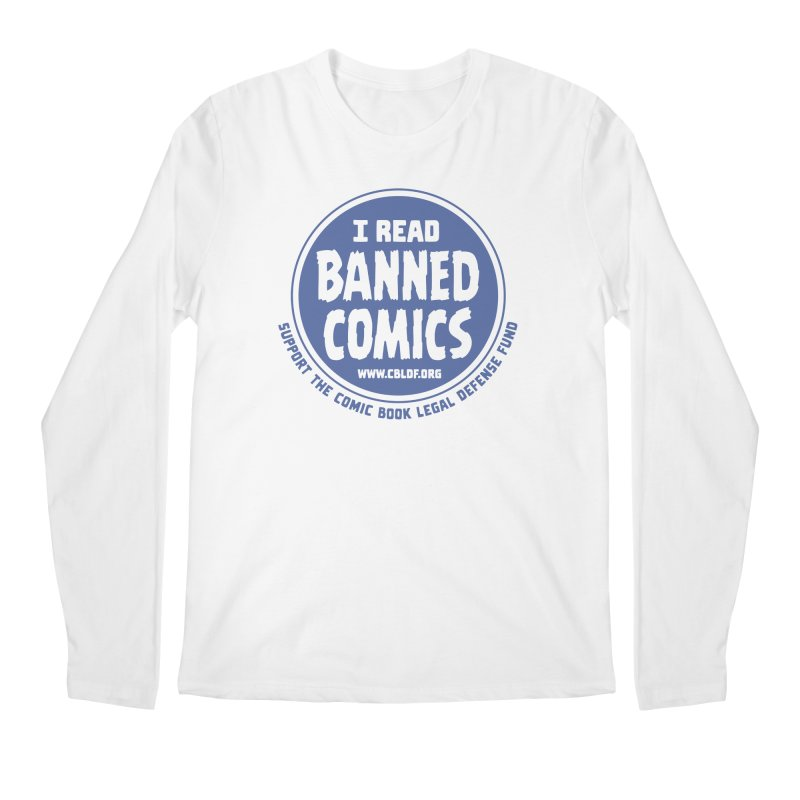 Banned Comics Men's Regular Longsleeve T-Shirt by COMIC BOOK LEGAL DEFENSE FUND
