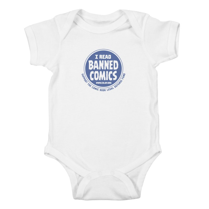 Banned Comics Kids Baby Bodysuit by COMIC BOOK LEGAL DEFENSE FUND