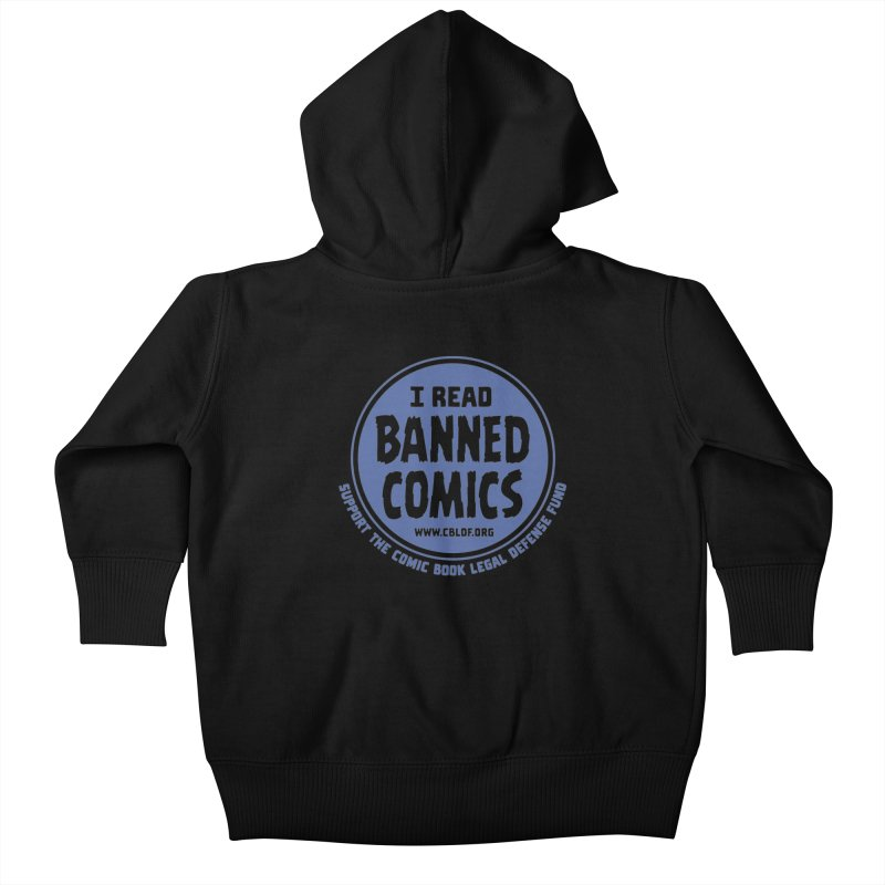 Banned Comics Kids Baby Zip-Up Hoody by COMIC BOOK LEGAL DEFENSE FUND