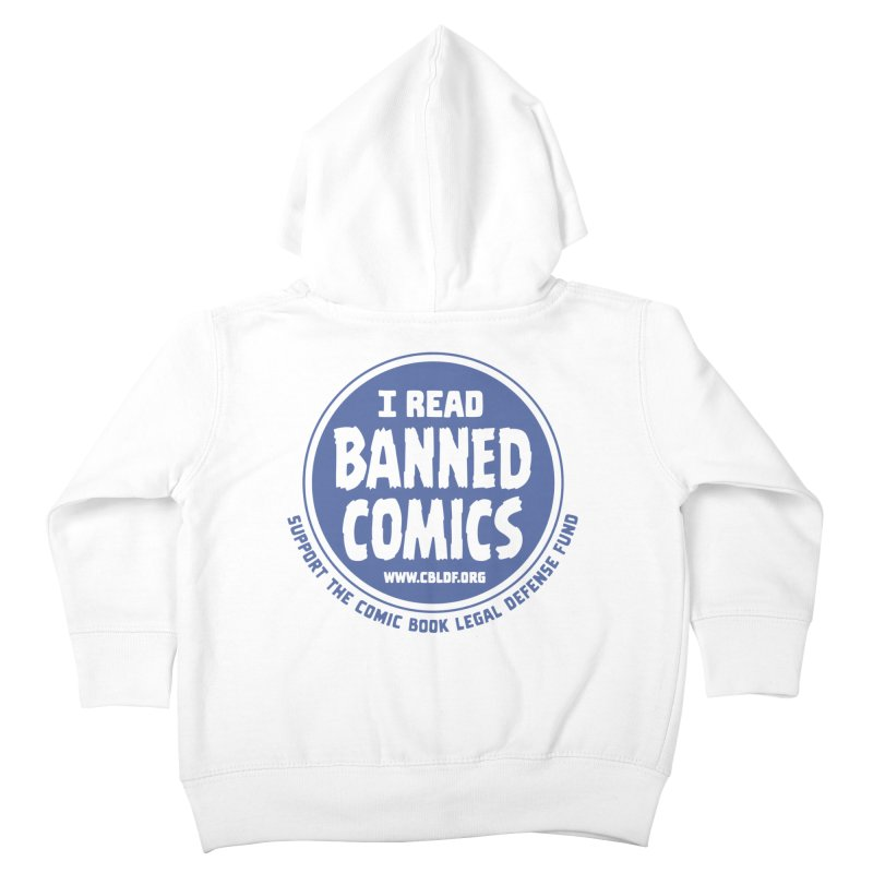 Banned Comics Kids Toddler Zip-Up Hoody by COMIC BOOK LEGAL DEFENSE FUND