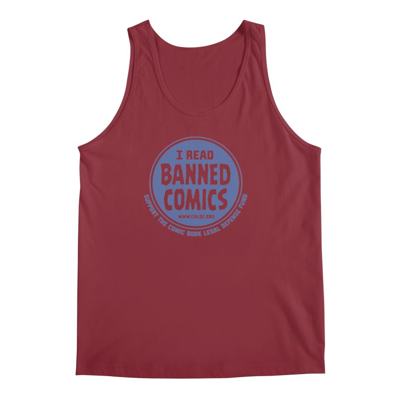 Banned Comics Men's Tank by COMIC BOOK LEGAL DEFENSE FUND
