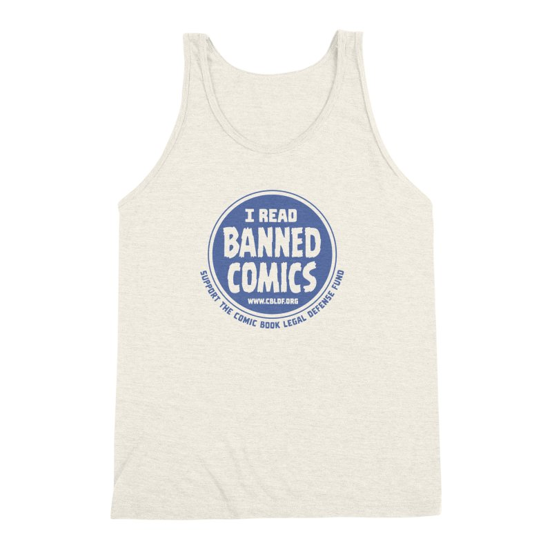 Banned Comics Men's Triblend Tank by COMIC BOOK LEGAL DEFENSE FUND