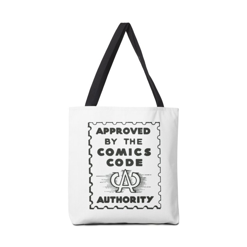 Comics Code Accessories Bag by COMIC BOOK LEGAL DEFENSE FUND