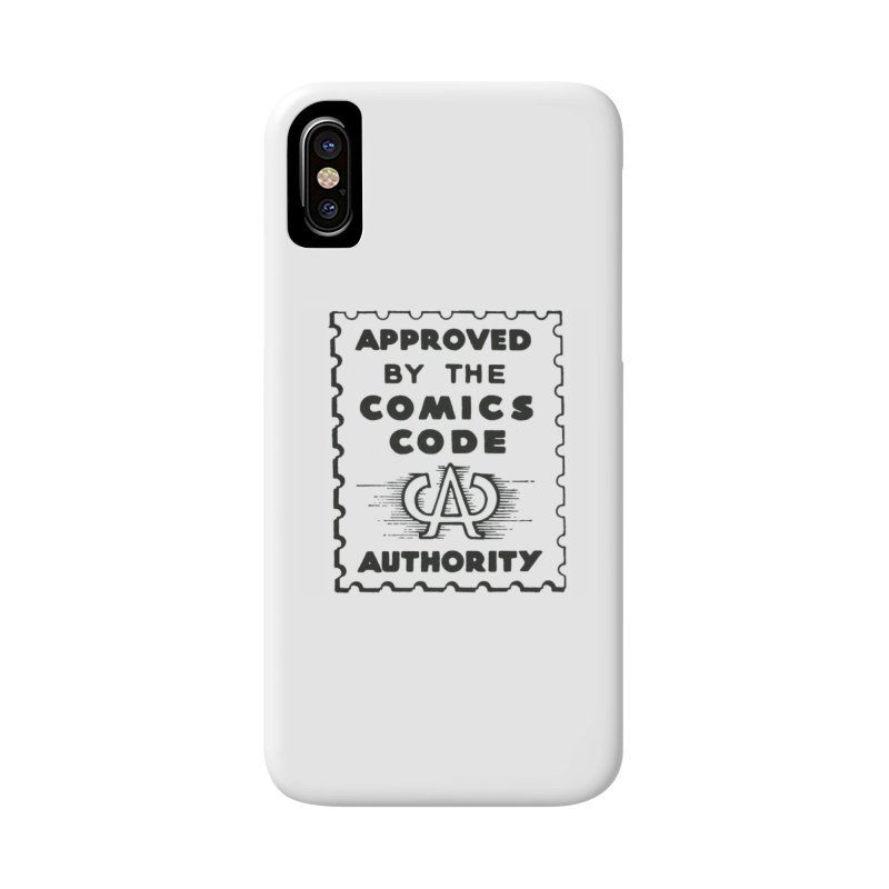 Comics Code Accessories Phone Case by COMIC BOOK LEGAL DEFENSE FUND