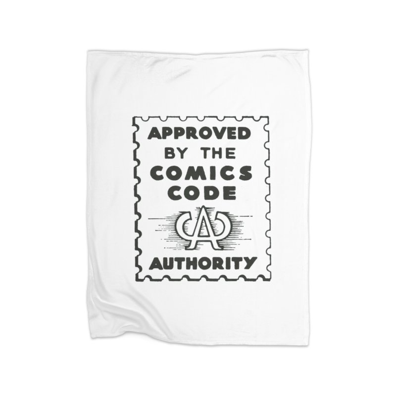 Comics Code Home Blanket by COMIC BOOK LEGAL DEFENSE FUND