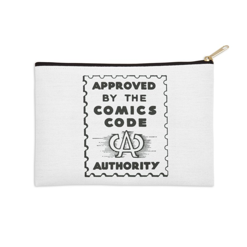 Comics Code Accessories Zip Pouch by COMIC BOOK LEGAL DEFENSE FUND