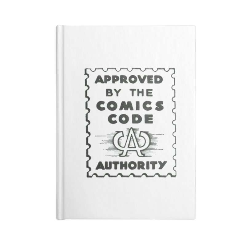Comics Code Accessories Notebook by COMIC BOOK LEGAL DEFENSE FUND
