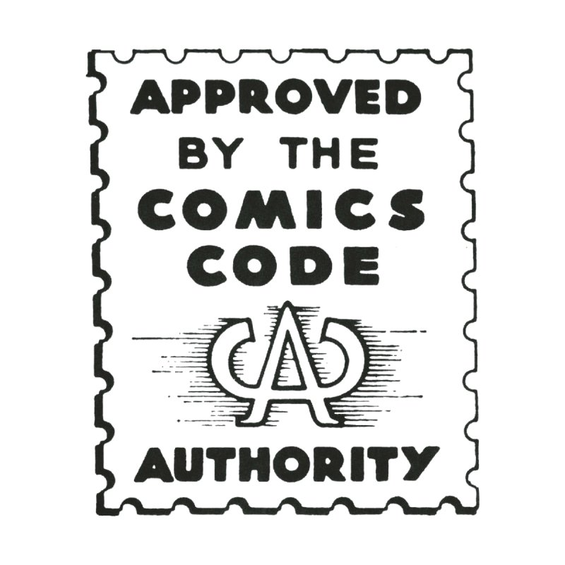 Comics Code None  by COMIC BOOK LEGAL DEFENSE FUND