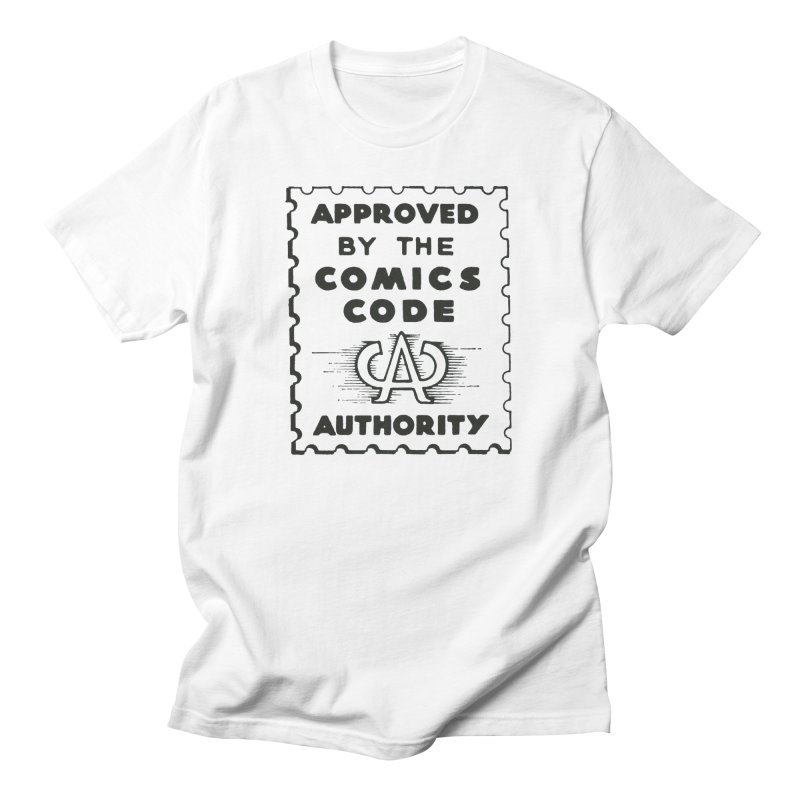 Comics Code Men's T-Shirt by COMIC BOOK LEGAL DEFENSE FUND