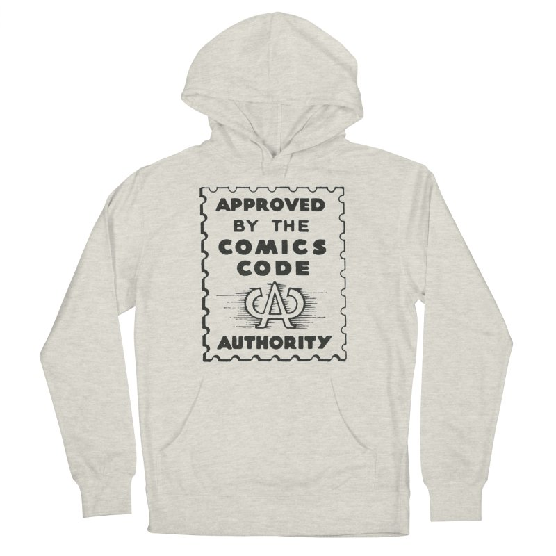 Comics Code Women's French Terry Pullover Hoody by COMIC BOOK LEGAL DEFENSE FUND
