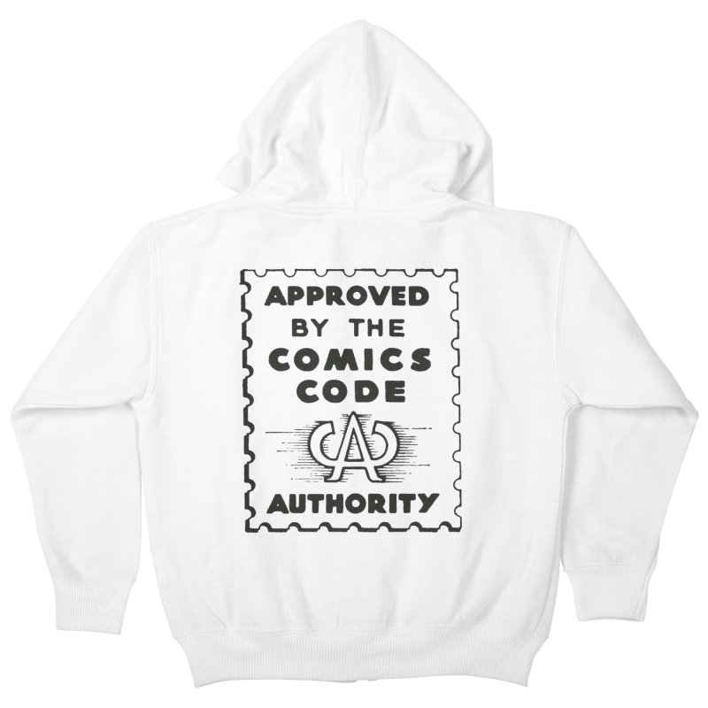 Comics Code Kids Zip-Up Hoody by COMIC BOOK LEGAL DEFENSE FUND