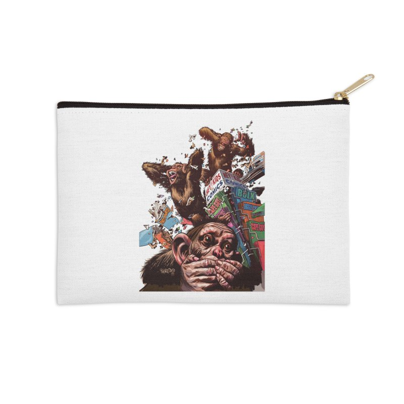 State of Things - Duncan Fegredo Accessories Zip Pouch by COMIC BOOK LEGAL DEFENSE FUND