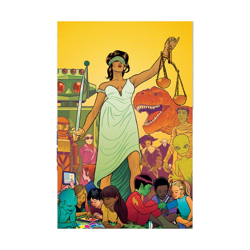 Lady Liberty - Michael Allred  by COMIC BOOK LEGAL DEFENSE FUND