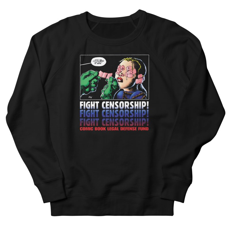 Just One More - Frank Miller Women's Sweatshirt by COMIC BOOK LEGAL DEFENSE FUND