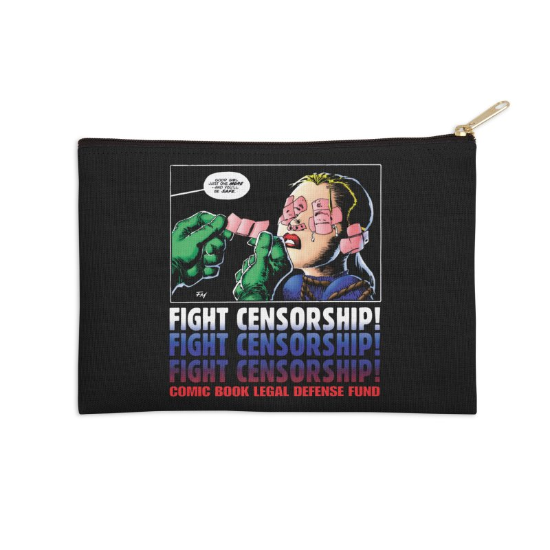 Just One More - Frank Miller Accessories Zip Pouch by COMIC BOOK LEGAL DEFENSE FUND