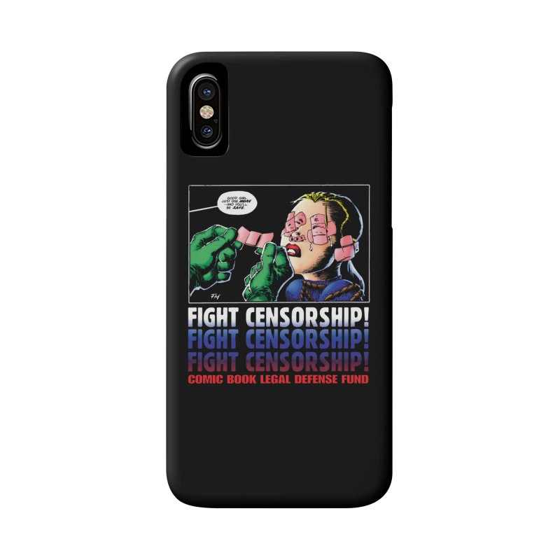 Just One More - Frank Miller Accessories Phone Case by COMIC BOOK LEGAL DEFENSE FUND