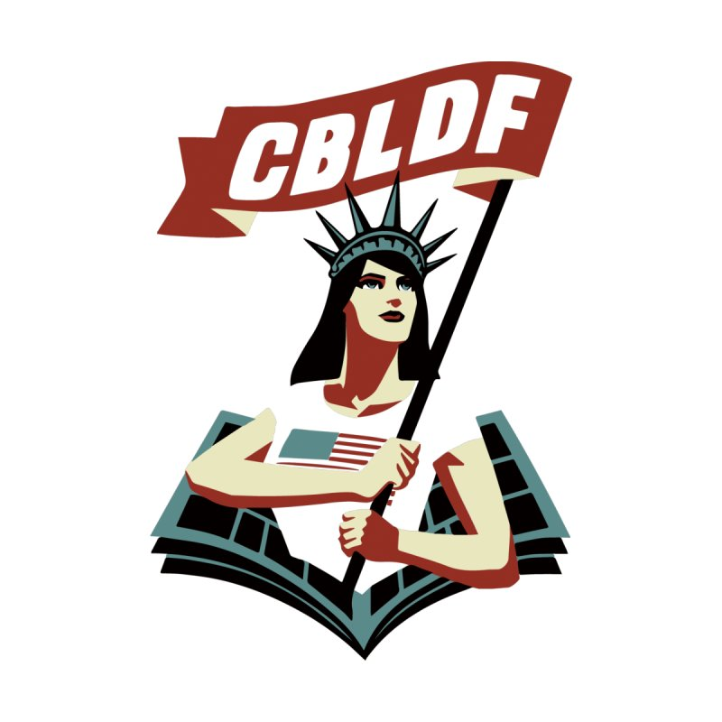 CBLDF Logo - Cliff Chiang by COMIC BOOK LEGAL DEFENSE FUND