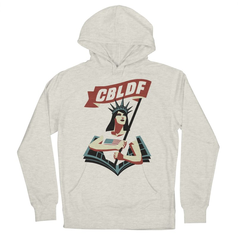 CBLDF Logo - Cliff Chiang Women's Pullover Hoody by COMIC BOOK LEGAL DEFENSE FUND
