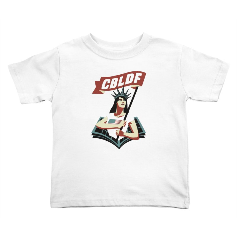 CBLDF Logo - Cliff Chiang Kids Toddler T-Shirt by COMIC BOOK LEGAL DEFENSE FUND