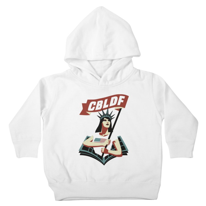 CBLDF Logo - Cliff Chiang Kids Toddler Pullover Hoody by COMIC BOOK LEGAL DEFENSE FUND
