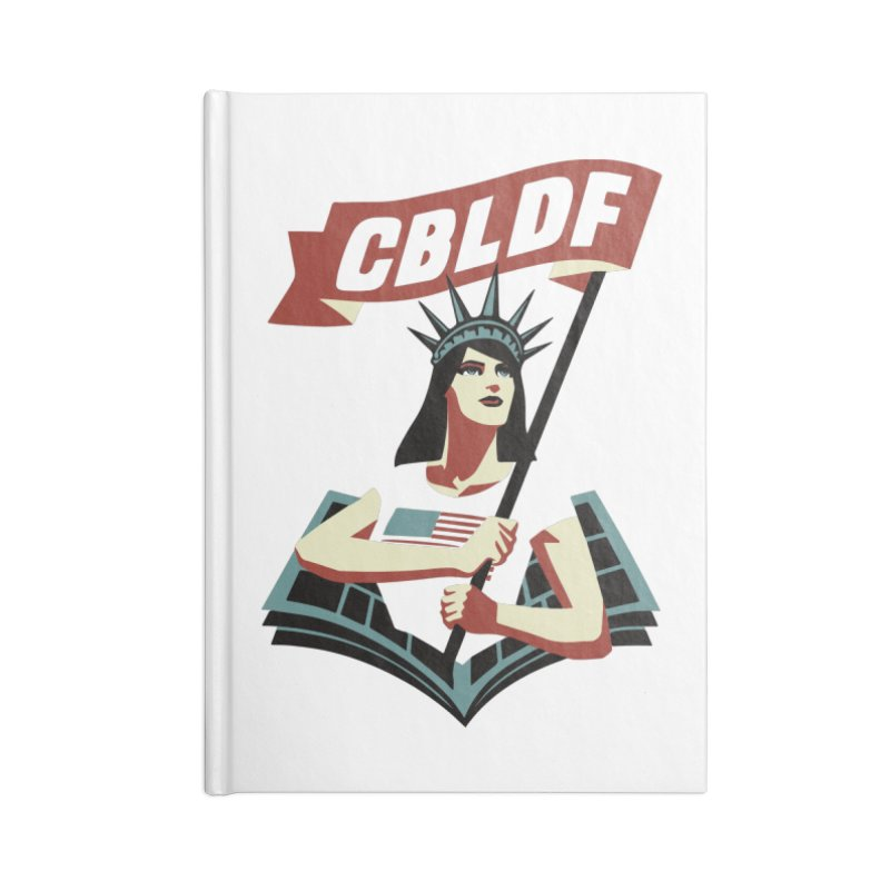 CBLDF Logo - Cliff Chiang Accessories Notebook by COMIC BOOK LEGAL DEFENSE FUND