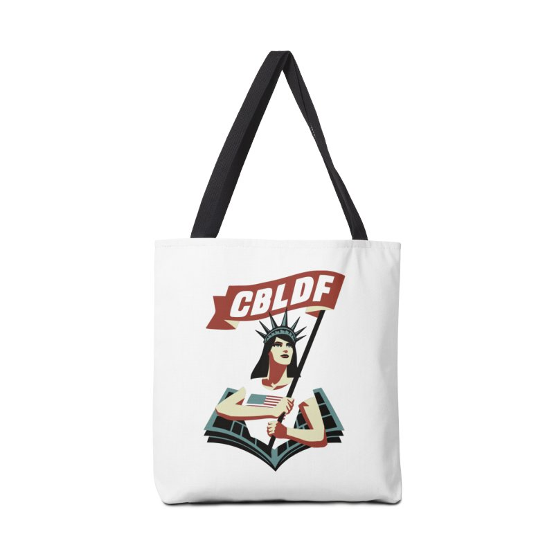 CBLDF Logo - Cliff Chiang Accessories Bag by COMIC BOOK LEGAL DEFENSE FUND