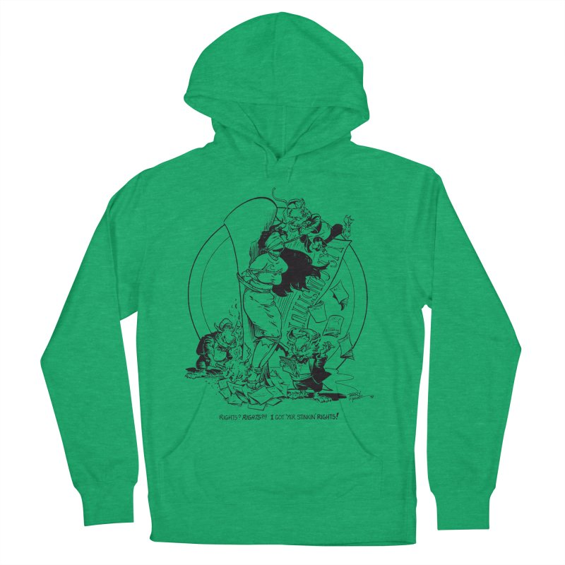 Terry Moore 1995 Women's French Terry Pullover Hoody by COMIC BOOK LEGAL DEFENSE FUND