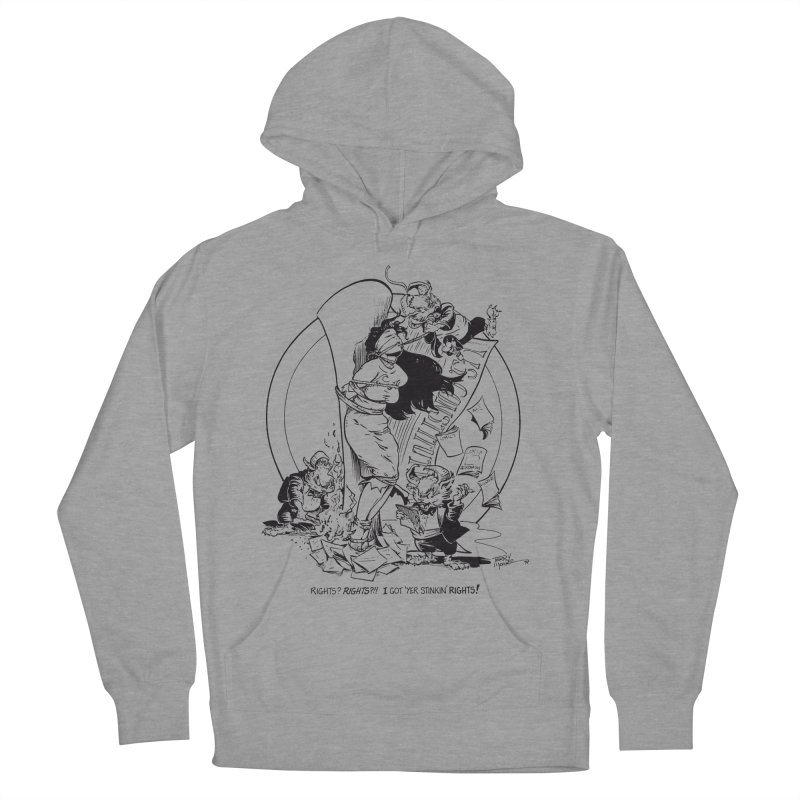 Terry Moore 1995 Men's French Terry Pullover Hoody by COMIC BOOK LEGAL DEFENSE FUND