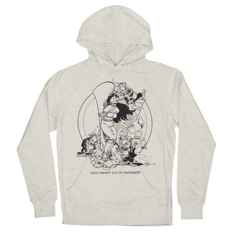 Terry Moore 1995 Men's Pullover Hoody by COMIC BOOK LEGAL DEFENSE FUND