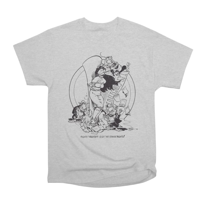 Terry Moore 1995 Women's Heavyweight Unisex T-Shirt by COMIC BOOK LEGAL DEFENSE FUND