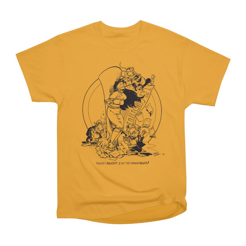 Terry Moore 1995 Men's Heavyweight T-Shirt by COMIC BOOK LEGAL DEFENSE FUND
