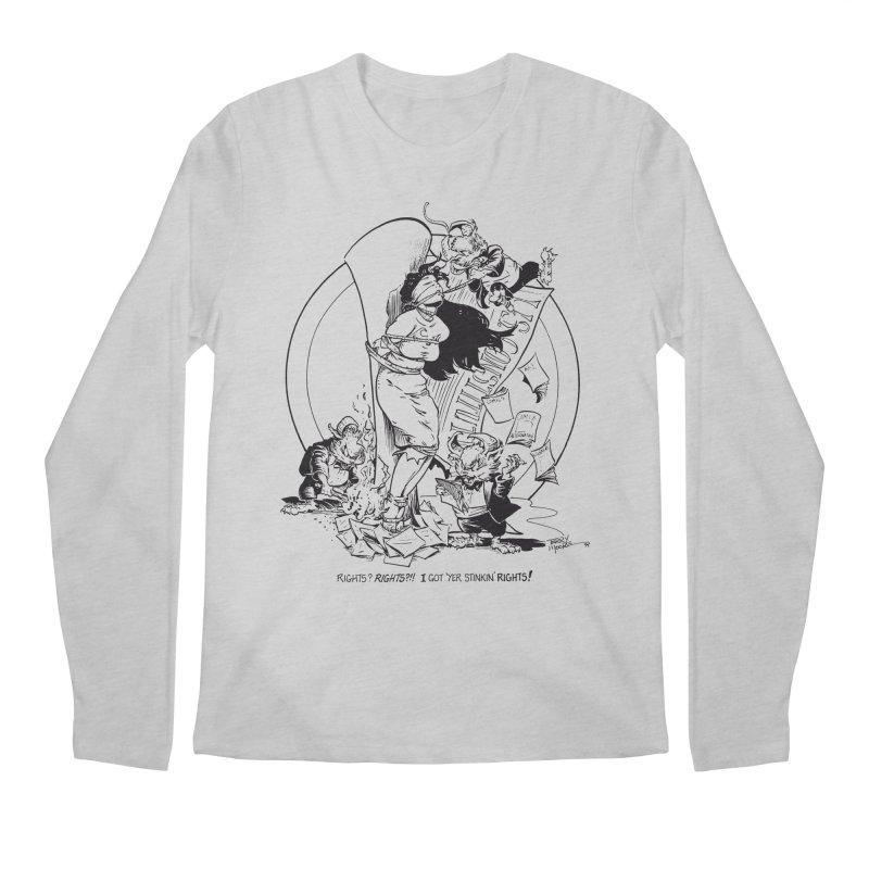 Terry Moore 1995 Men's Regular Longsleeve T-Shirt by COMIC BOOK LEGAL DEFENSE FUND